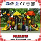 De gelukkige Apparatuur van de Speelplaats van Kinderjaren Openlucht