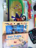 Glossy Lamination Comic Children Book Printing Gloss Surface Finish