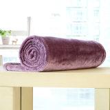 Cobertor contínuo pequeno da flanela do cobertor do poliéster (SR-B170316-36)