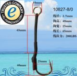 Attraits de bonne qualité de pêche de gabarit de fil de pêcheur fou