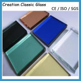 groen Glas 3300*2140mm van het Glas van het Glas van het Brons van 5mm Weerspiegelend Blauw
