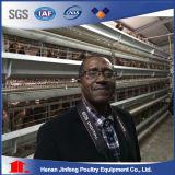 Cage de poulet de ponte d'oeufs pour la ferme avicole du Nigéria