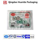 Изготовленный на заказ тип напечатанный логосом плоский мешок пластичных замороженных продуктов упаковывая