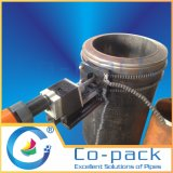 Haute performance sur le foreur à chaînes pneumatique de tube de site