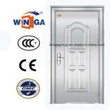 銀製カラーステンレス鋼のSunproofの金属の機密保護のドア(W-GH-26)