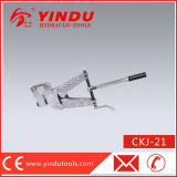 Escavador de aço manual do furo do ferro de ângulo (CKJ-21)