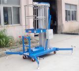 алюминиевая гидровлическая платформа подъема воздушной работы рангоута 10meters (GTWY10-100)