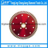 Disque circulaire de découpage de diamant de découpage rapide pour le granit