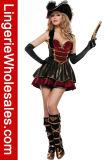 Costume Cosplay добычи пирата причудливый платья Halter партии Halloween женщин