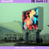 Placa ao ar livre brilhante elevada super do sinal do diodo emissor de luz da cor cheia do diodo emissor de luz para o anúncio video