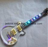 Acryllicht der karosserien-LED auf Karosserien-Stutzen Les Langspielplatte-elektrischer Gitarre