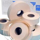 브라운과 백색 색깔을%s 가진 종이 테이프를 견장을 달기의 고품질