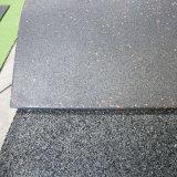 Спортивной площадки Paver плитки ранга экспорта плитка настила напольной резиновый цветастой резиновый резиновый