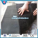 Riciclare le mattonelle di gomma della gomma di ginnastica delle mattonelle di pavimento delle mattonelle delle mattonelle di gomma esterne dirette di gomma di gomma della fabbrica