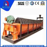 100% classificatore a spirale garantito Quanlity della vite di macchina di estrazione dell'oro per estrazione mineraria del ferro/asciugamento dei residui