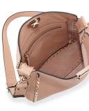 Retro borsa della spalla dell'unità di elaborazione del sacchetto di Rockstud Crossbody