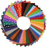 Сортированная ткань войлока цвета покрывает заплатку корабль 20*30cm DIY