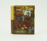 Boîte en étain en forme de livre pour café ou thé