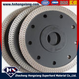 4.5 polegadas Circular Diamond Saw Blade para Porcelain e Ceramic Tiles