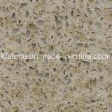 Pedra projetada de quartzo para o assoalho/parede/parte superior da cozinha