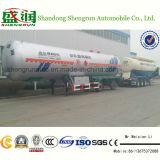 ASME Standard 3 Axle LPG Tank Trailer, 56000L LPG Gas Trailer