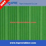 Гофрируйте резиновый циновку настила/зеленую резиновый циновку настила