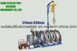 máquina de soldadura da tubulação do HDPE da máquina da fusão da extremidade de 315-630mm