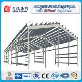 Almacén fabricado de la estructura de acero de Lida