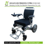Light plegable Power Wheelchair para The Elderly y Disabled People