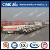 Cimc зерно Huajun навальные/топливозаправщик порошка с передним цилиндром