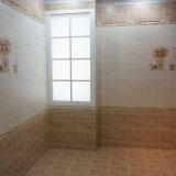 300*600 300*300によって艶をかけられる陶磁器の壁の浴室のタイル