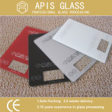 /Silk-Screen 얼룩이 진 인쇄 유리제/장식 적이고 또는 착색된 유리제 세라믹 프릿으로 만들어진 색칠에 의하여 단단하게 하는 유리