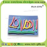 Выдвиженческие магниты холодильника PVC подарков 3D как туризм с конструкцией шаржа PVC (RC-OT)