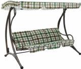 まっすぐな足の金属フレームの庭の振動椅子