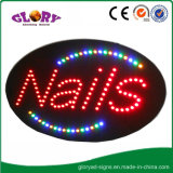 Signe ouvert de clignotement de DEL de lumière au néon de signe pour le système de barre