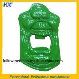 Flaschen-Öffner mit grünem Farbanstrich 1