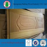 Pelle di legno naturale del portello modellata HDF dell'impiallacciatura