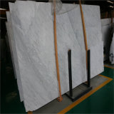 Newstarの高品質のイタリアの固体表面の白い大理石の平板Biancoカラーラ