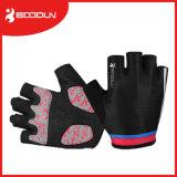 Polsterauflagen-Fahrrad-Handschuh/Moutain Schleife-Handschuh für halben Finger