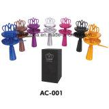 Accesorios de la cachimba de la corona de la manera Cabeza inoxidable del cuenco de la cachimba de Shisha