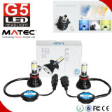 luz H4 de la lámpara del bulbo de la linterna de la motocicleta de la MAZORCA H11 Hi/Lo LED de 40W 4000lm para el coche