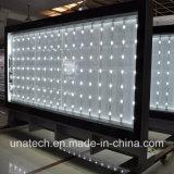 Media mega al aire libre del rectángulo ligero de la bandera de Unipole LED