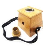 Rectángulo de bambú de Moxa - un agujero