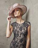 Neuer Ankunfts-Markenname A - Zeile V-Stutzen V-Back gebördelte Chiffon- Abend-Kleider hergestellt in China (WD58)