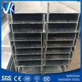 Sección de acero galvanizada de H