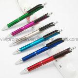 Penna a sfera di plastica poco costosa con il marchio su ordinazione per la pubblicità (BP1201S)