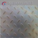 Placa Checkered laminada a alta temperatura do aço A36 suave