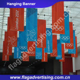 Fabrik Digital-Drucken-der kundenspezifischen bekanntmachenden Flexhängenden Fahnen-Markierungsfahnen