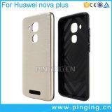 Caisse dure raboteuse d'armure de glissade pour le nova de Huawei plus la couverture