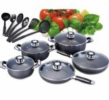 Il Pakistan Aluminum Non-Stick Cookware Set 16PCS (LF2028)